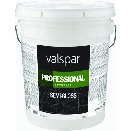 valspar professional 100 acrylic semi gloss exterior house paint. Black Bedroom Furniture Sets. Home Design Ideas