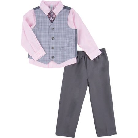 George Toddler Boy Houndstooth Dress Set