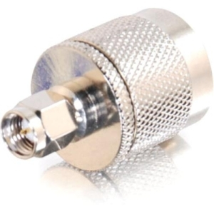 COAX N-MALE TO SMA MALE WIFI ADAPTER SILVER