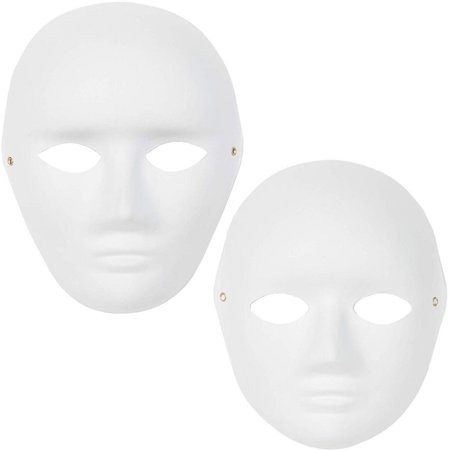 Cute Halloween Diy Crafts (Bright Creations Blank DIY Masquerade Craft Masks (12 Count), Male and)