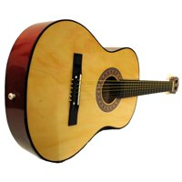 """38"""" Starter Acoustic Guitar with Performer Package - Natural"""