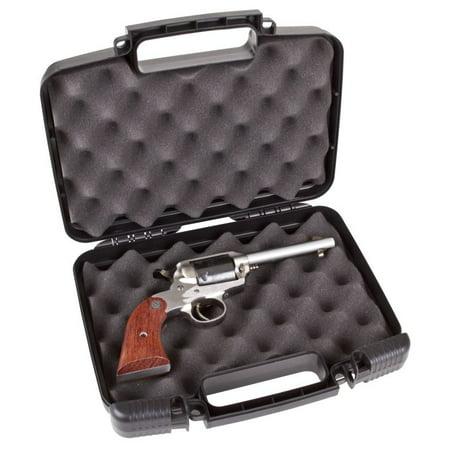 "Flambeau 1011 Safe Shot Pistol Case 9.75"" L x 6"" W x 2.75"" D Polymer Black"
