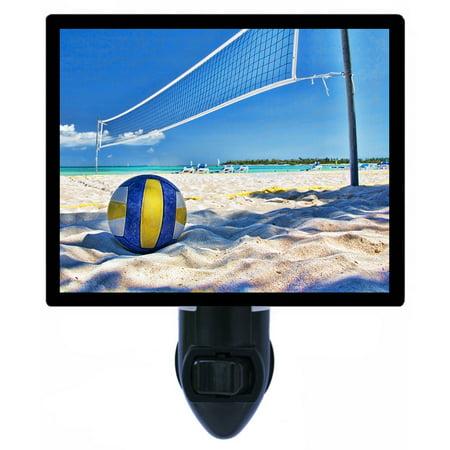 Night Light - Photo Light - Volleyball - Net and Ball on Beach](Beach Ball Lights)