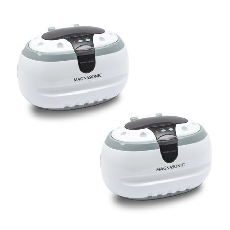 Magnasonic Professional Ultrasonic Jewelry and Eyeglass Cleaner (CD2800) - 2 Pack