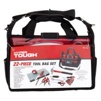 22-Pieces Hyper Tough Tool Bag Set