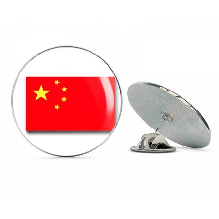 China People Republic Flag  Steel Metal 0.75