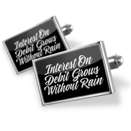 Cufflinks Classic Design Interest On Debit Grows Without Rain   Neonblond