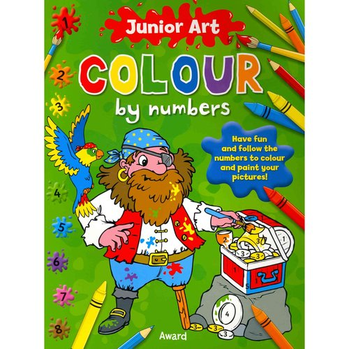 Junior Art Colour by Numbers, Pirate