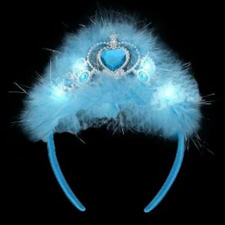 Flashing Blue Princess Tiara