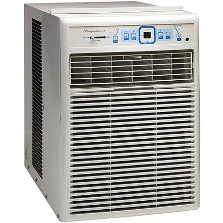 Window Air Conditioner Features For convenience, select an air conditioner with a remote control or programmable timer. Smart window air conditioners with Wi-Fi connectivity put you in control of your temperature when you're on the go and can alert you when it's time to change the filter.
