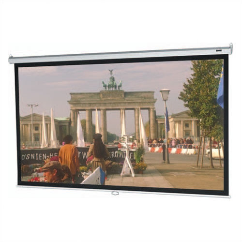 Da-Lite Model B Matte White Manual Projection Screen