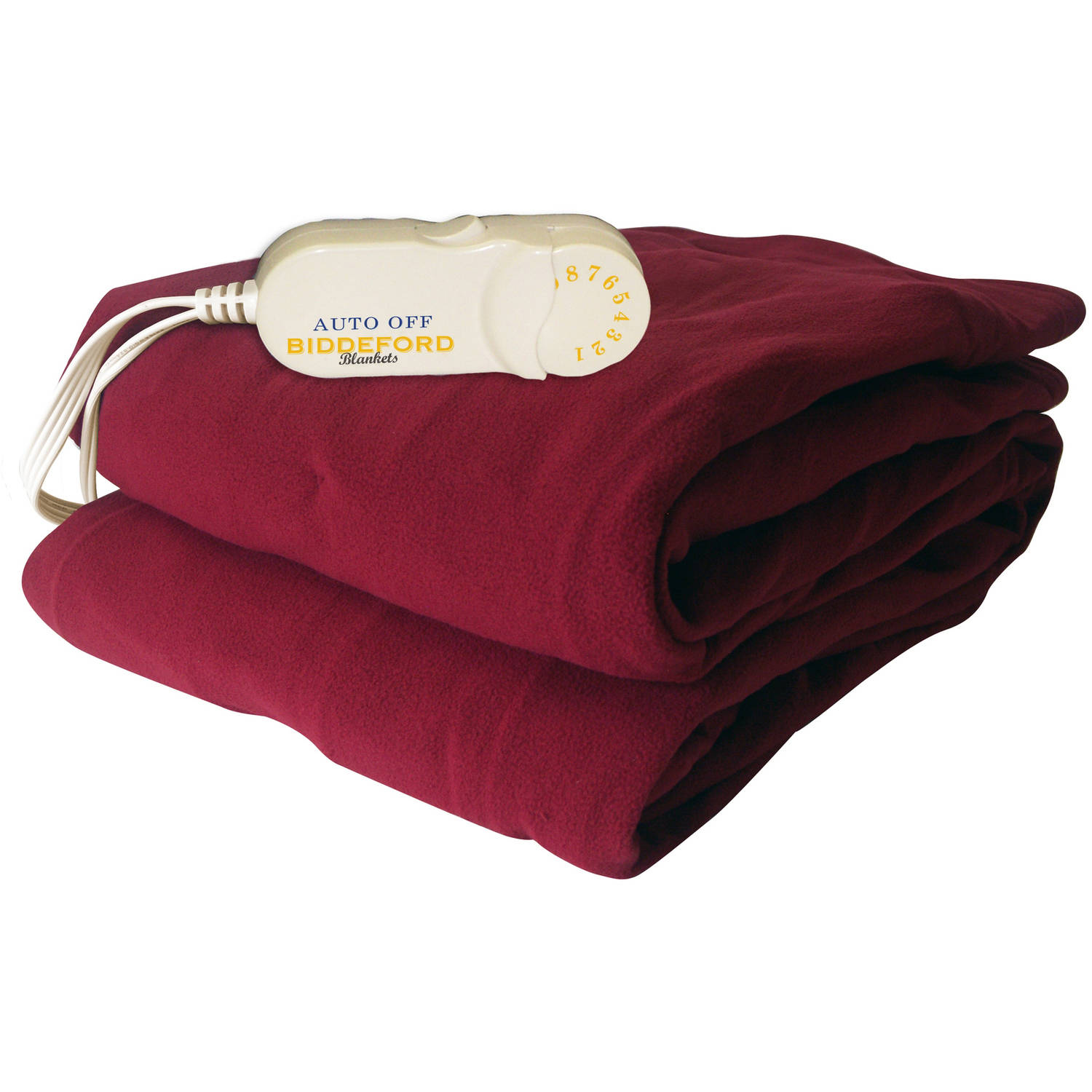 Biddeford Comfort Knit Electric Heated Throw With Analog Controller Brick Walmart Com Walmart Com