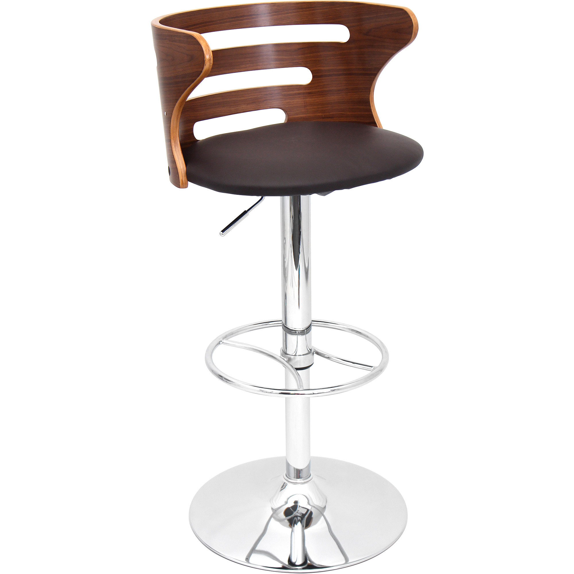 Cosi Barstool, Walnut Brown
