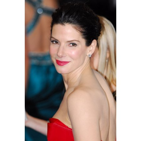 Sandra Bullock At Arrivals For The 83Rd Academy Awards Oscars   Arrivals Part 1 Canvas Art     16 X 20
