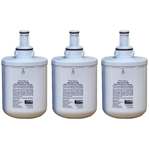 Replacement Filter for Samsung DA29-00003B / DA29-00003G / WF289 / EFF-6011A / WSS-1 (3-Pack) Refrigerator Water Filter