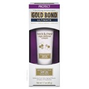 Gold Bond Ultimate Neck & Chest Firming Cream, Clinically Tested Skin Firming Cream, 2 oz.