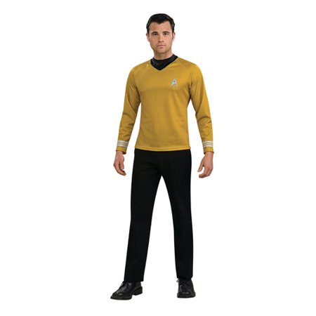 mens star trek captain kirk halloween costume size small