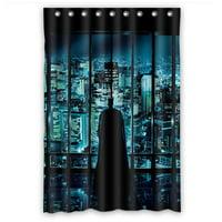 Ganma Batman Shower Curtain Polyester Fabric Bathroom Shower Curtain 60x72 inches