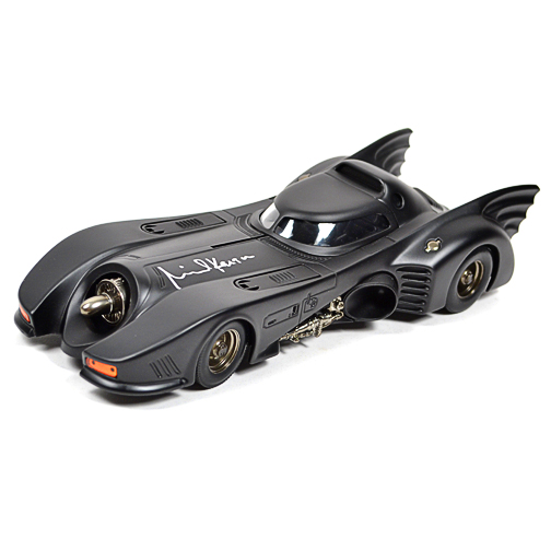 Michael Keaton Autographed Die-Cast 1:18 Scale Batman 1989 Batmobile