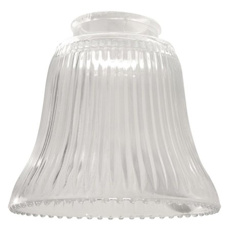 Craftmade 2.25 in. 755 Bell Shaped Glass Fan Shade - Boot Shaped Glass