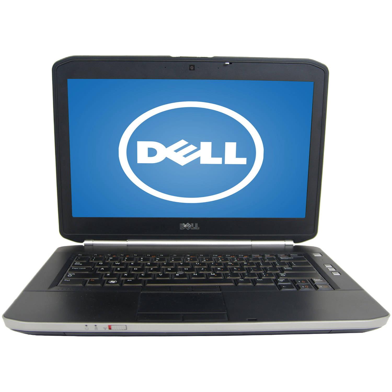 """Refurbished Dell Black 14"""" E5420 Laptop PC with Intel Core i5 Processor, 6GB Memory, 320GB Hard Drive and Windows 7 Home Premium"""