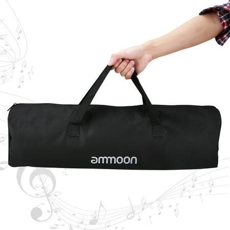 ammoon Portable Floor Type Support de partitions en métal Matériel Hauteur réglable avec sac de transport Noir - image 6 de 7
