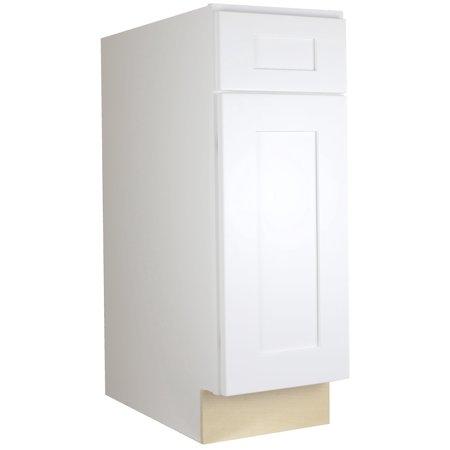 Cabinet Mania:  White Shaker - B21 - Base Cabinet 21
