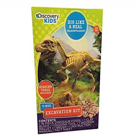 Discovery Kids Dinosaur Excavation Kit - Assorted - Walmart com
