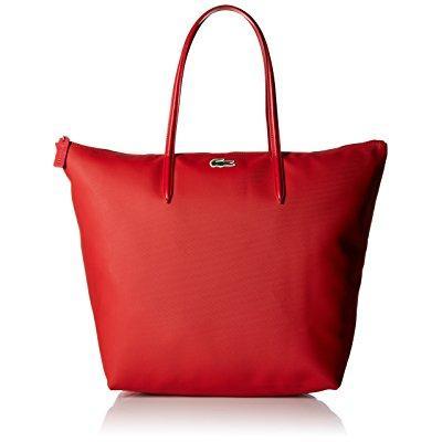 Lacoste l.12.12 concept travel tote bag, salsa