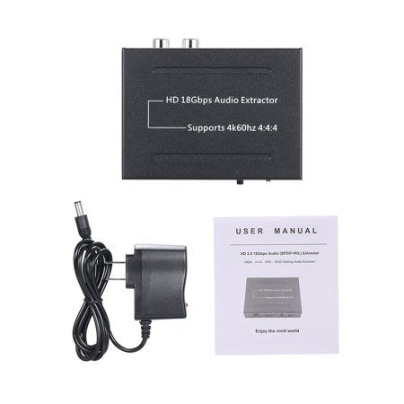 Audio Extractor 4k 60Hz Audio Extractor 18Gbps Audio Splitter - image 2 de 7