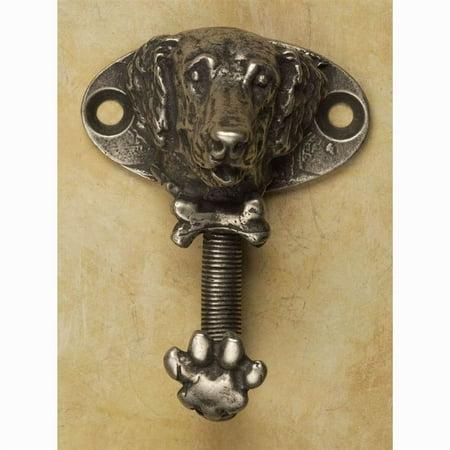 Golden Retriever hook (Antique Gold) ()