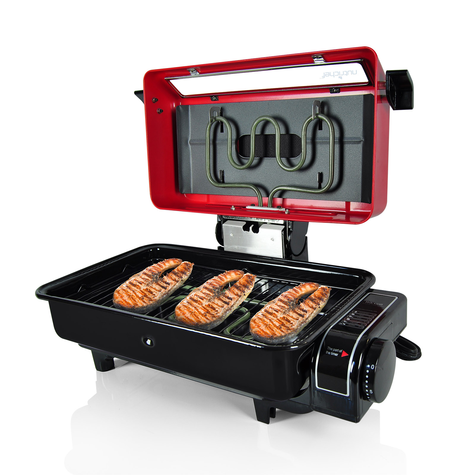 NutriChef Fish Grill, Roasting Oven Cooker