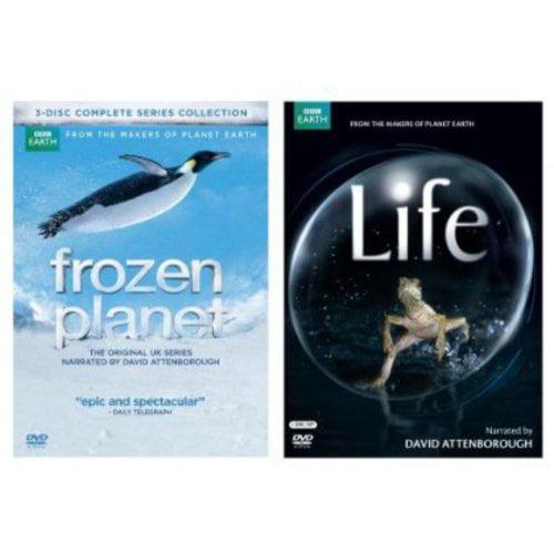 BBC Video Frozen Planet / Life 2 Pack DVD