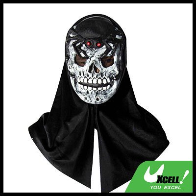 Horrifying Zombie w/ Evil Spider Latex Halloween Mask - Horrifying Costumes
