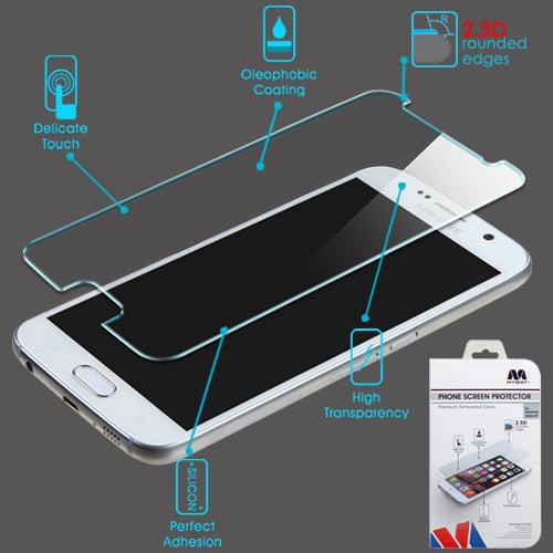 Samsung Galaxy S6 MyBat Tempered Glass Screen Protector 2.5D