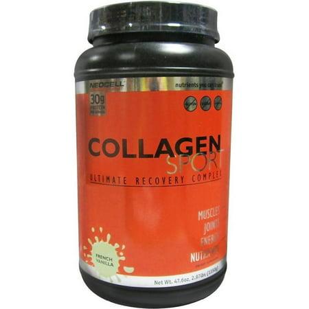 Collagen Sport Collagen Sport, French Vanilla, 3 LB