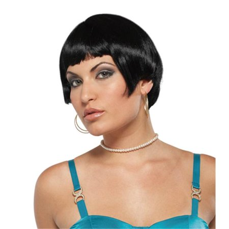 Costumes For All Occasions Mr177329 Wig Fresh Flapper Black - image 1 de 1
