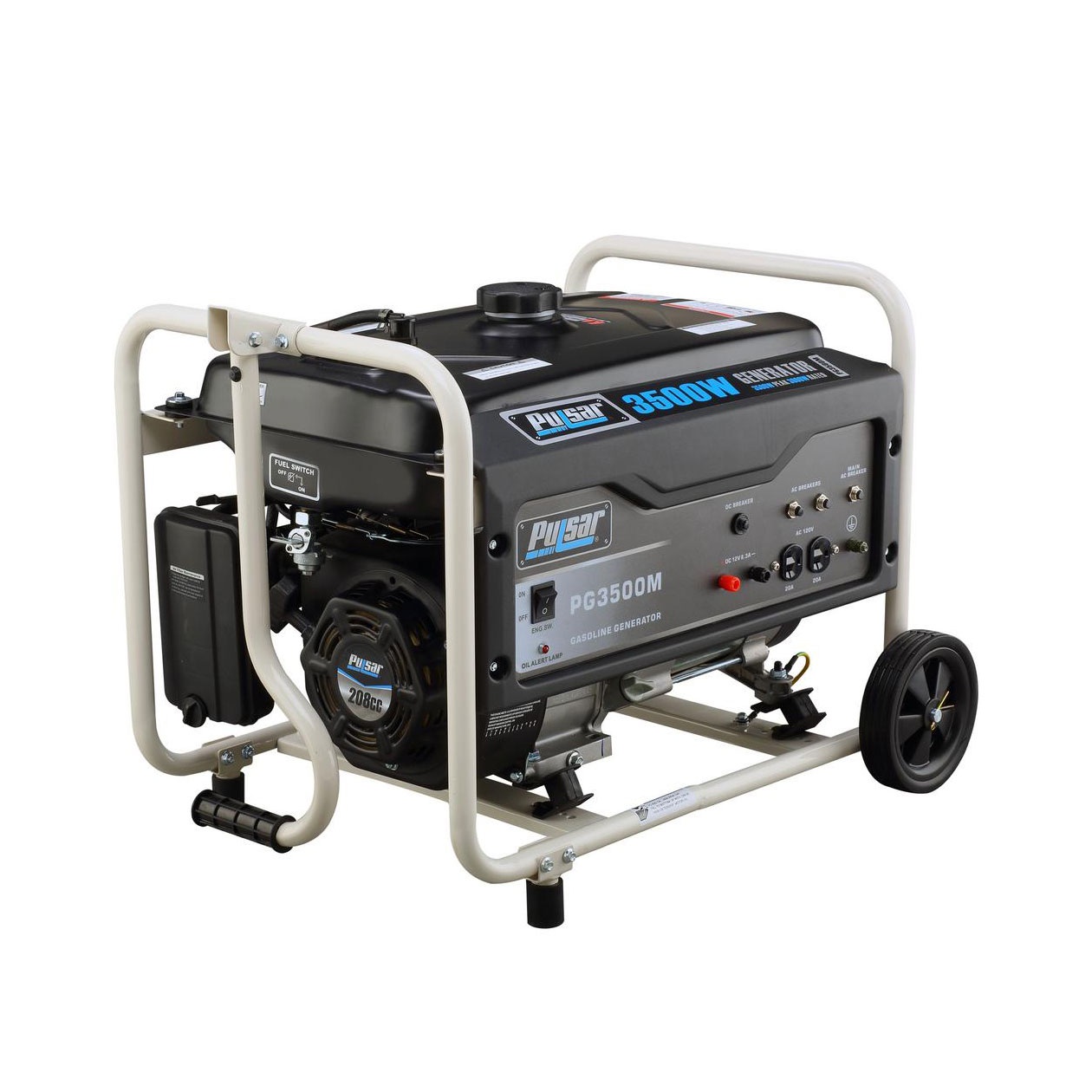 Pulsar GAS 3500W GENERATOR RATED 3000W