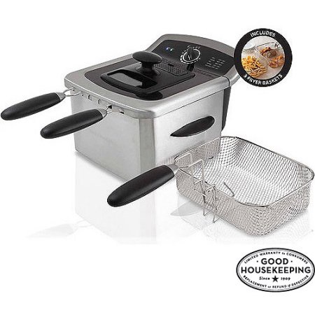 Farberware 4L Deep Fryer, Stainless Steel