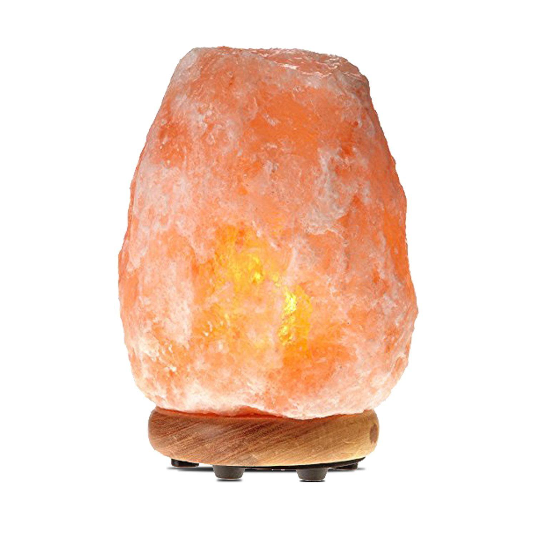 Himalayan Glow 1002 Pink Crystal Salt Lamp, ETL Listed, (8-11 Lbs)