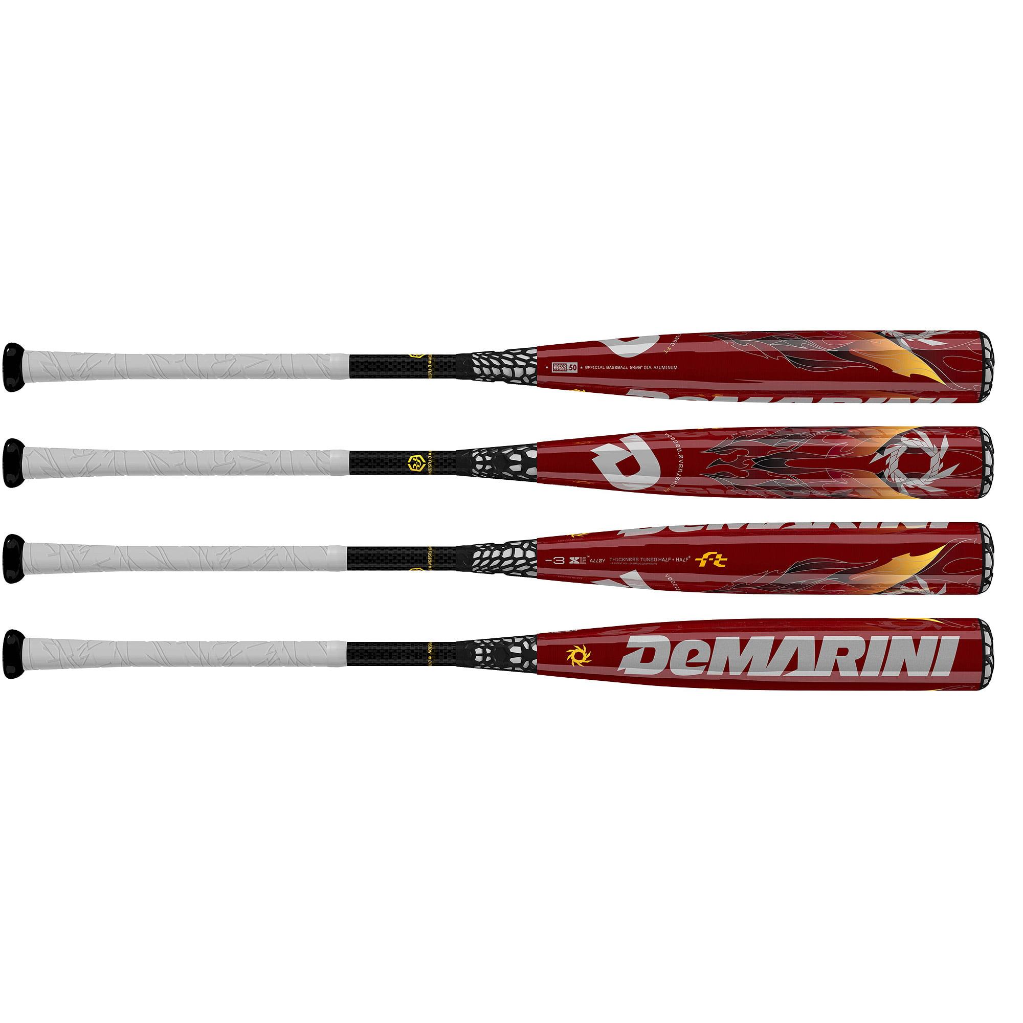 DeMarini VooDoo OverLord FT BBCOR -3 Adult Baseball Bat
