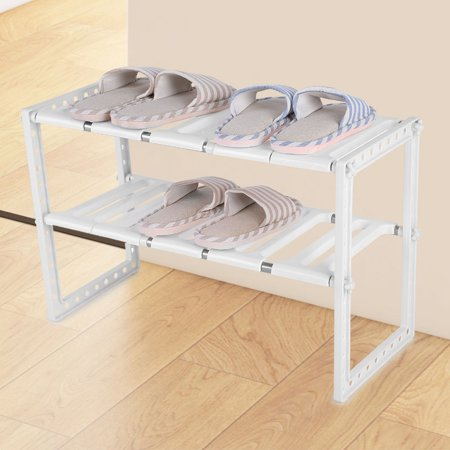 Telescopic Stand Storage Shelf Space Save Cupboard Extending Extra Home