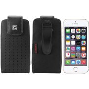 Cellet Teramo Leather Case with Fixed Swivel Clip for Apple iPhone 5/5s/5c