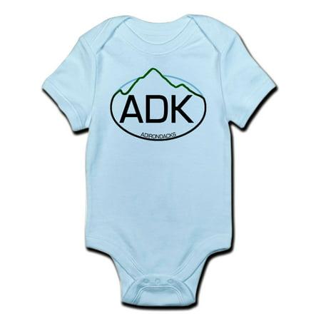 CafePress - ADK Oval Infant Bodysuit - Baby Light Bodysuit