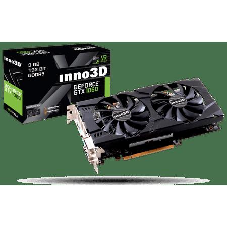 Inno3D Nvidia Geforce GTX 1060 3GB Gaming OC Video Graphics