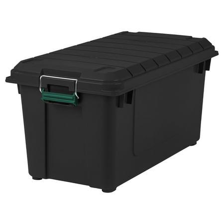 Remington 82 Qt Weathertight Storage Tote, 4 Pack