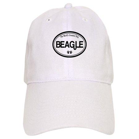 CafePress - Beagle - Printed Adjustable Baseball Cap