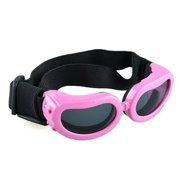 Dcolor Pink Framed Pet Puppy dogs UV Protection Goggles Sunglasses Eyewear XS