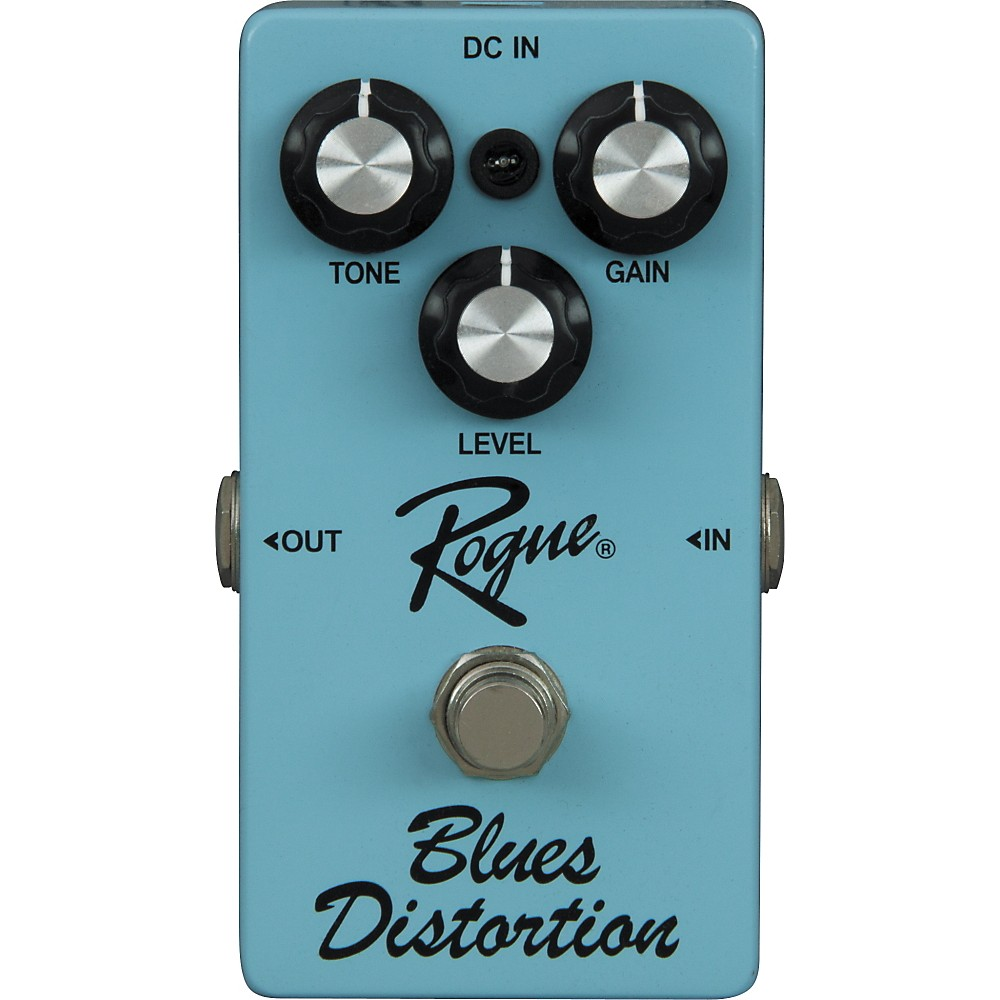 Rogue Blues Distortion Guitar Effects Pedal by Rogue