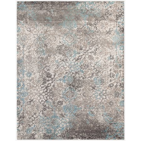 Cambridge Blue Power-Loomed Accent Rug ...